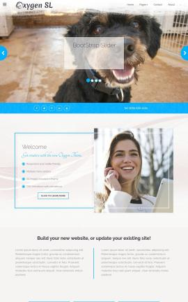 Oxygen Animal-shelter Website Template