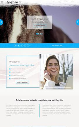 Oxygen Equestrian Website Template