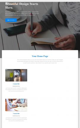 Ultra Business Website Template