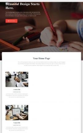 Ultra Child-care Website Template