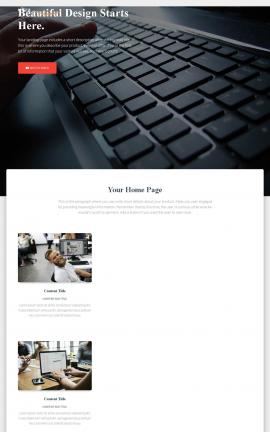 Ultra Computers Website Template