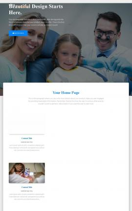 Ultra Dental Website Template