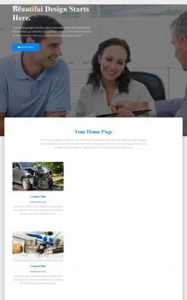 Ultra Insurance Website Template