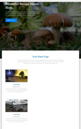 Ultra Nature Website Template