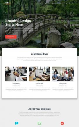 Ultra Landscaping Website Template