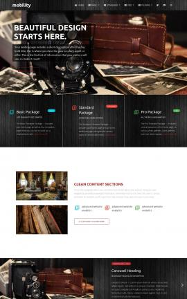 Mobility Antiques Website Template