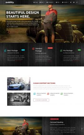 Mobility Automobile Website Template