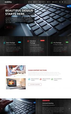 Mobility Computers Website Template
