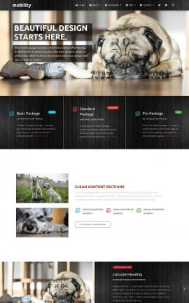 Mobility Dogs Website Template