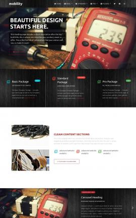 Mobility Electrical Website Template