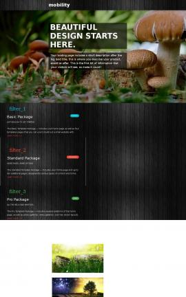 Mobility Nature Website Template