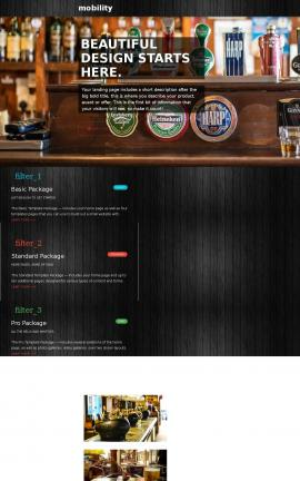 Mobility Pub Website Template