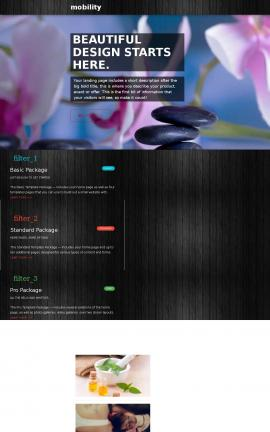 Mobility Spa Website Template