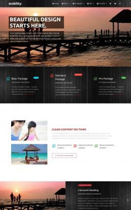 Mobility Travel Website Template
