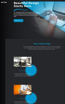Flex Accounting Website Template
