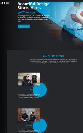 Flex Law-enforcement Website Template
