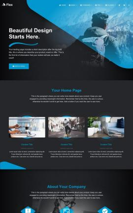 Flex Multi-purpose Website Template