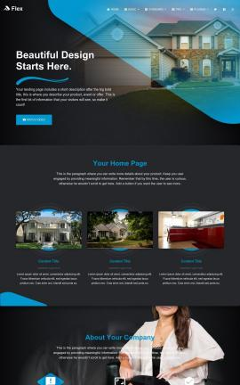 Flex Real-estate Website Template