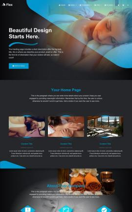 Flex Spa Website Template
