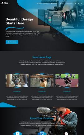 Flex Videography Website Template