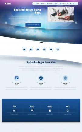 Skye Multi-purpose Web Template