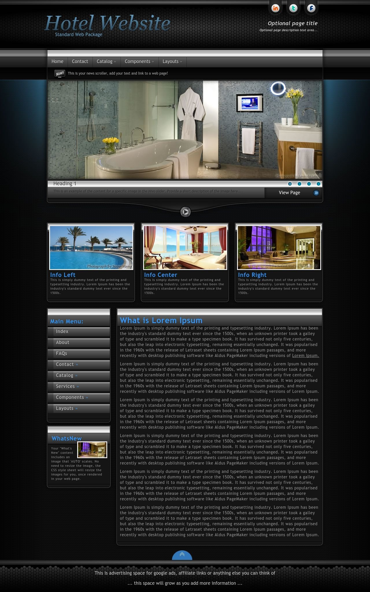 Hotel Wordpress Themes