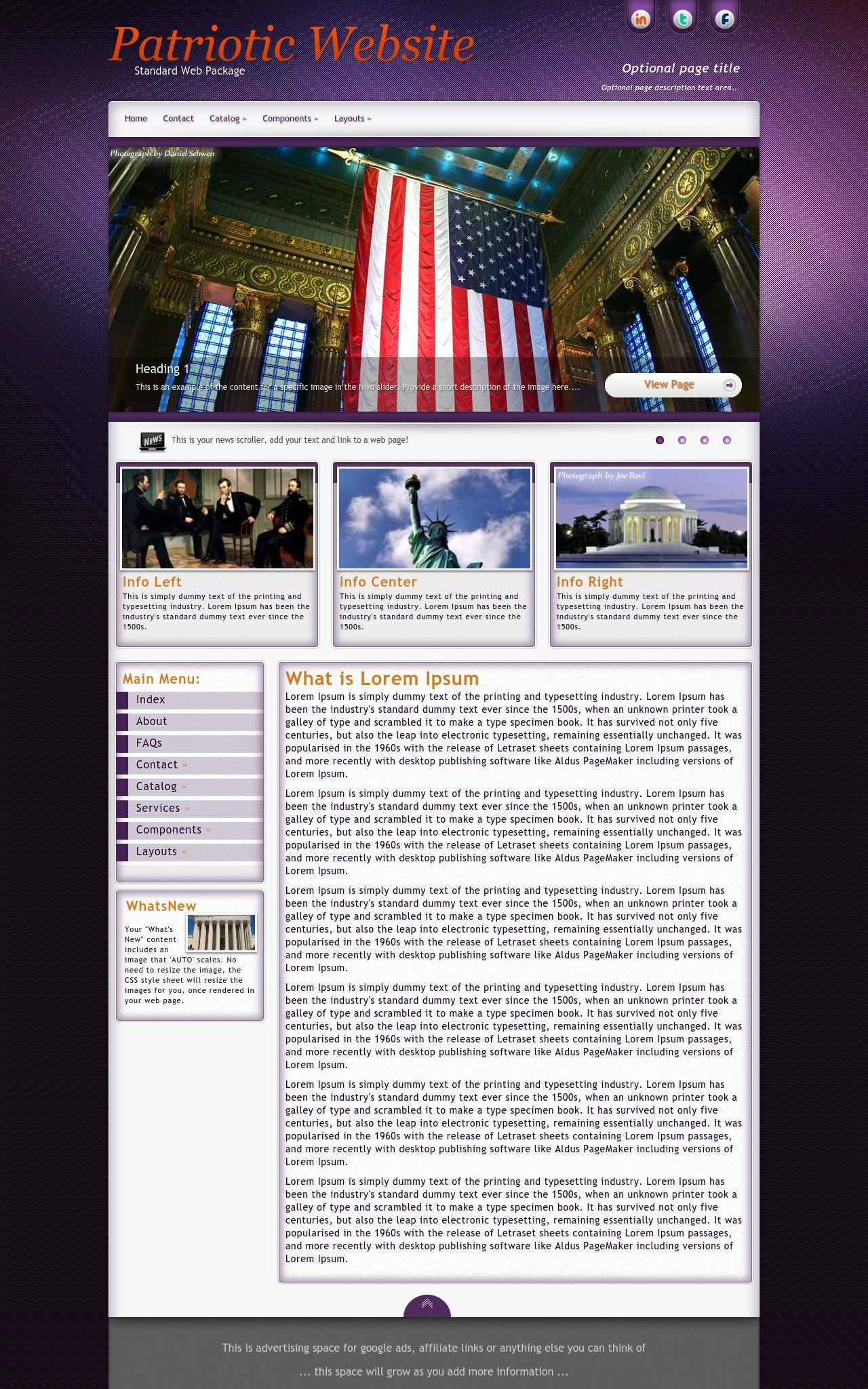 Patriotic Wordpress Themes