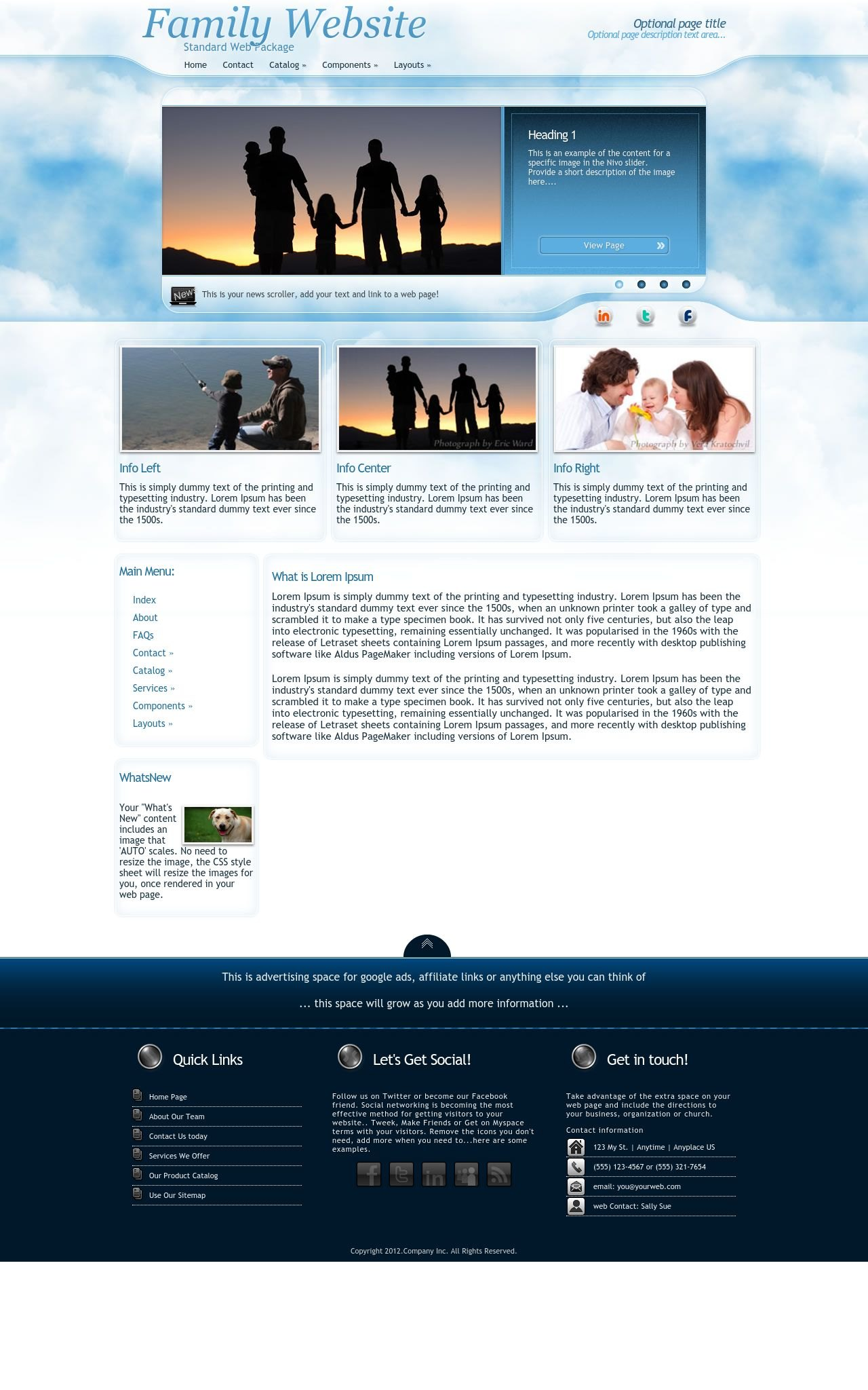 Family Wordpress Themes