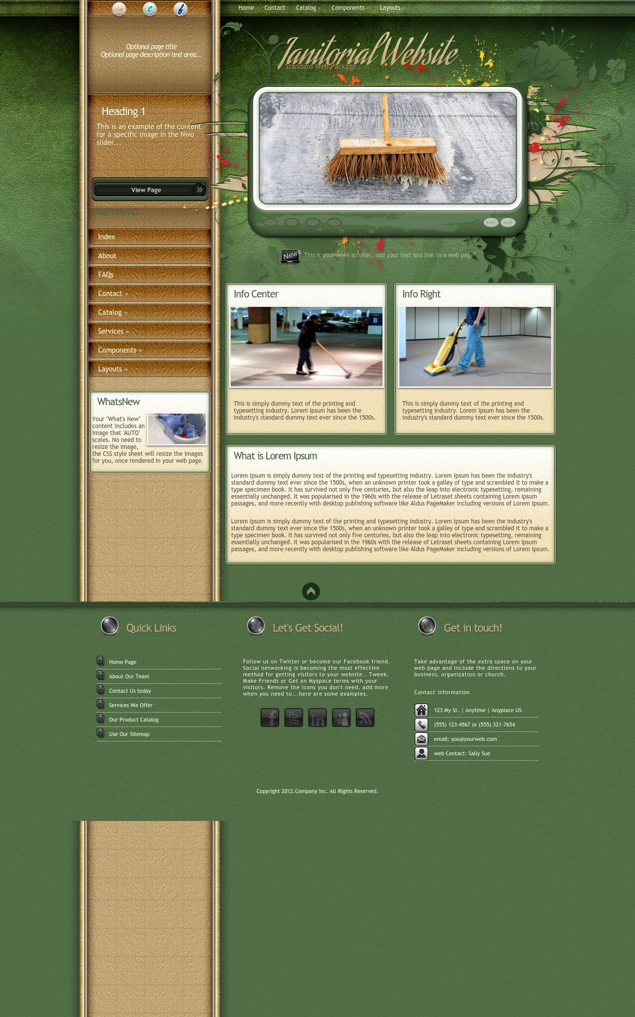 Janitorial Wordpress Themes