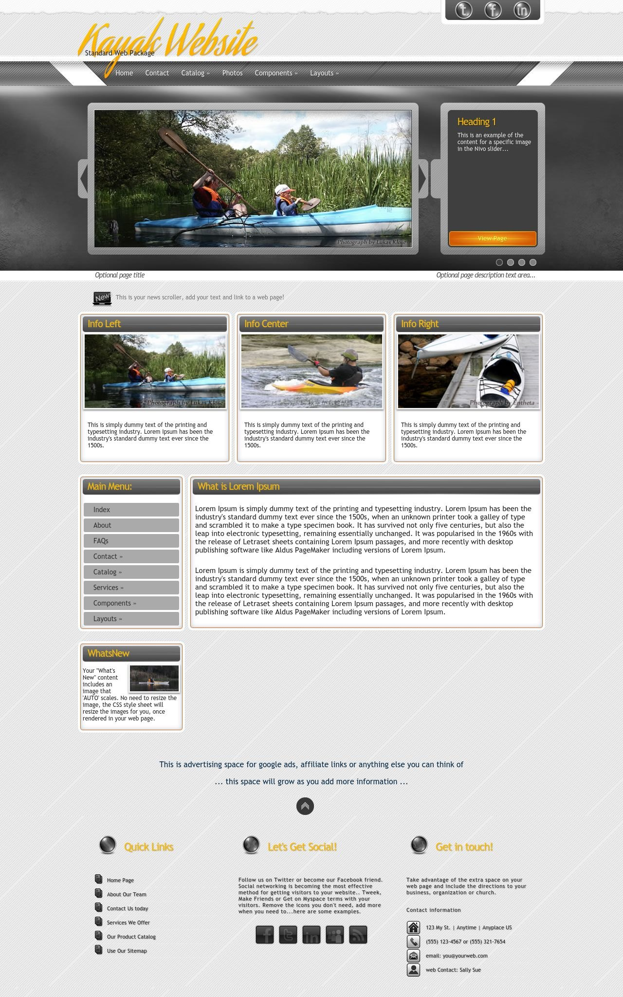 Kayak Wordpress Themes