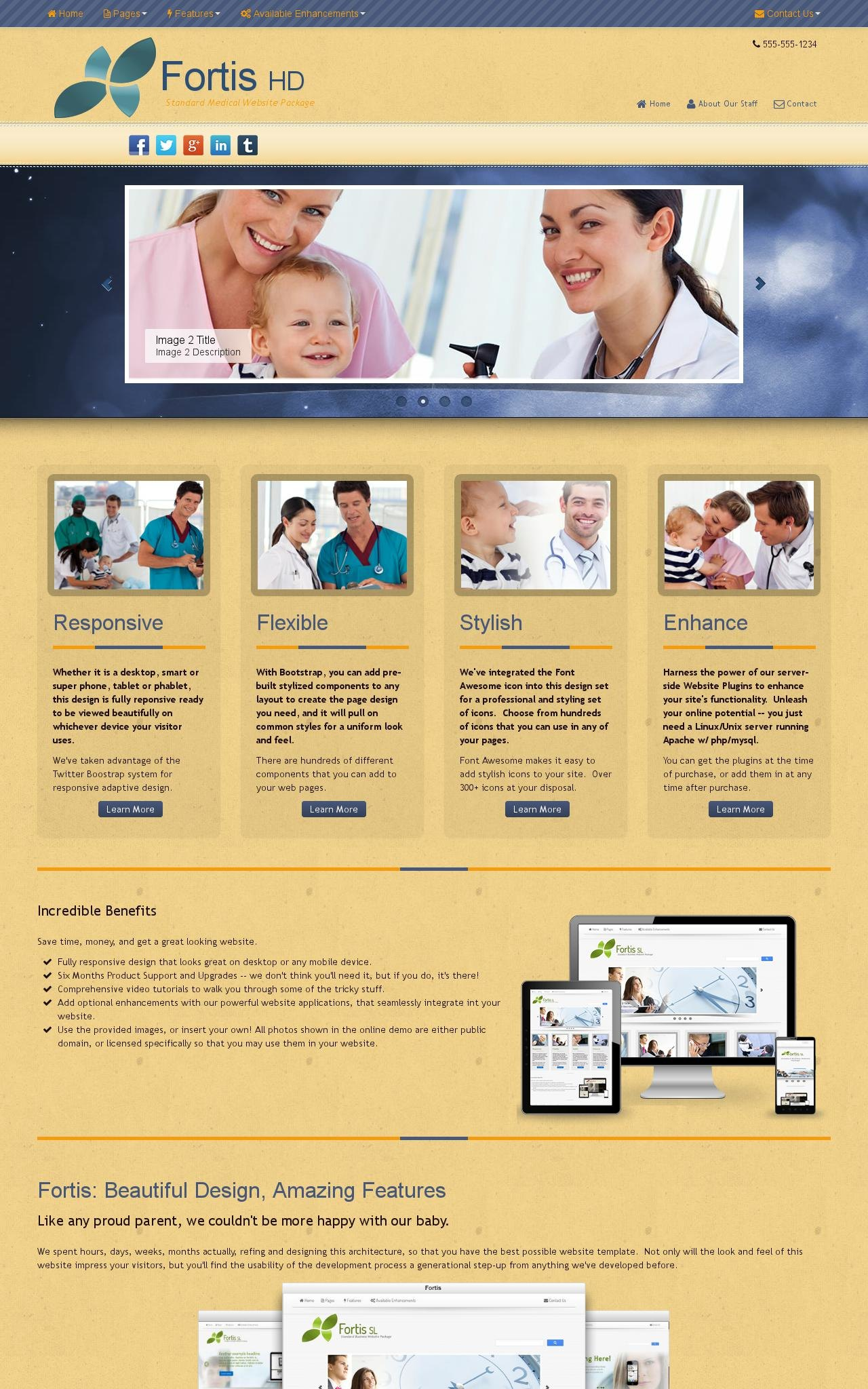 Medical Dreamweaver Templates