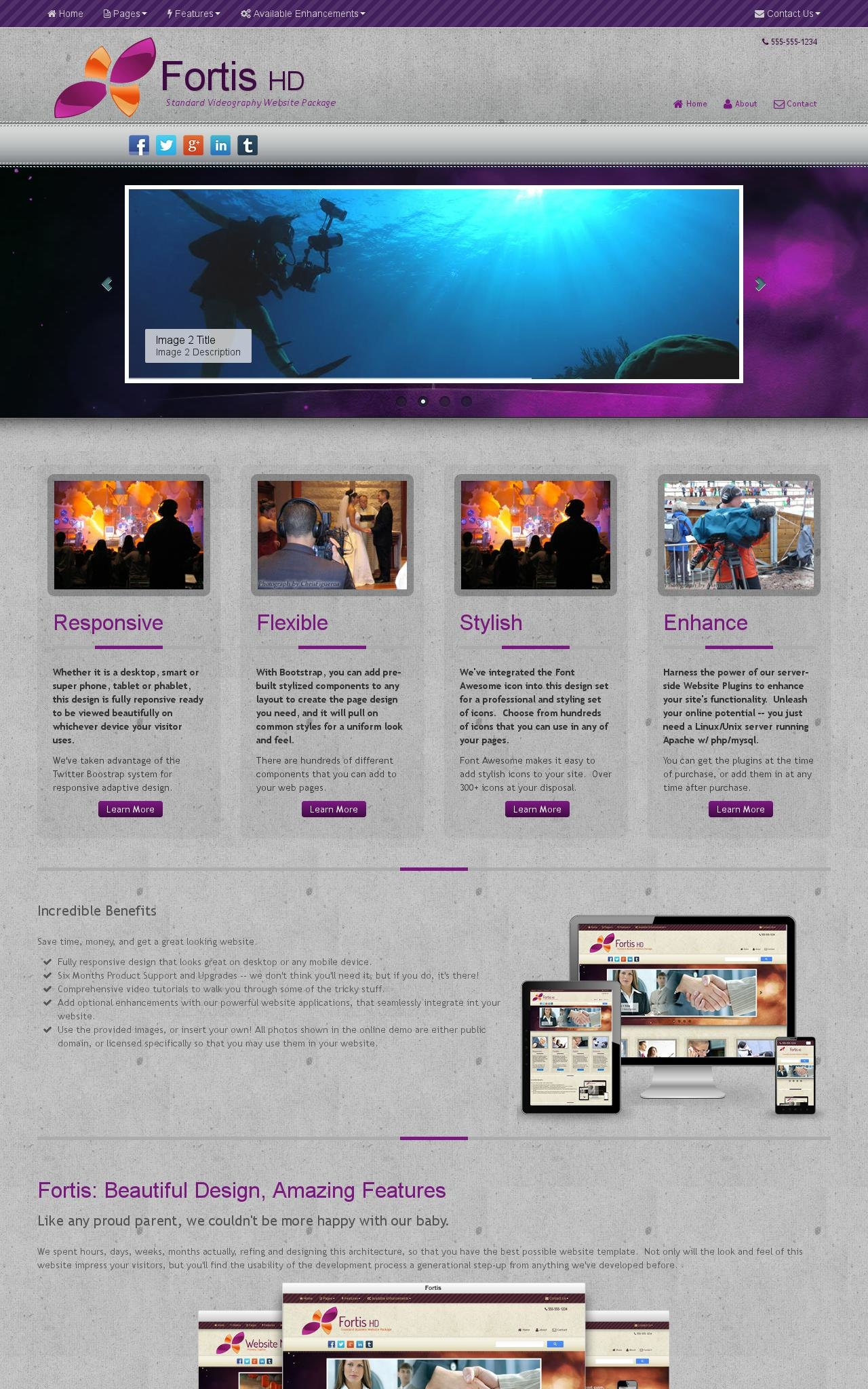 Videography Wordpress Themes