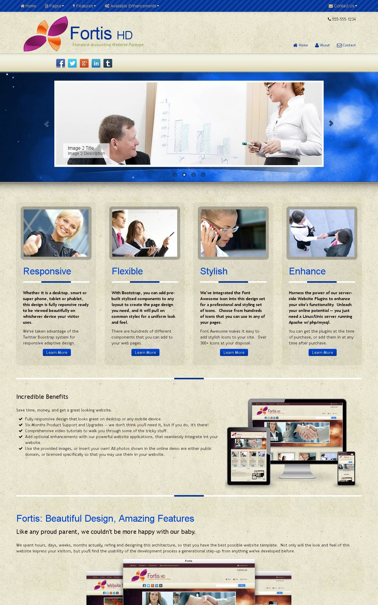 Accounting Dreamweaver Templates