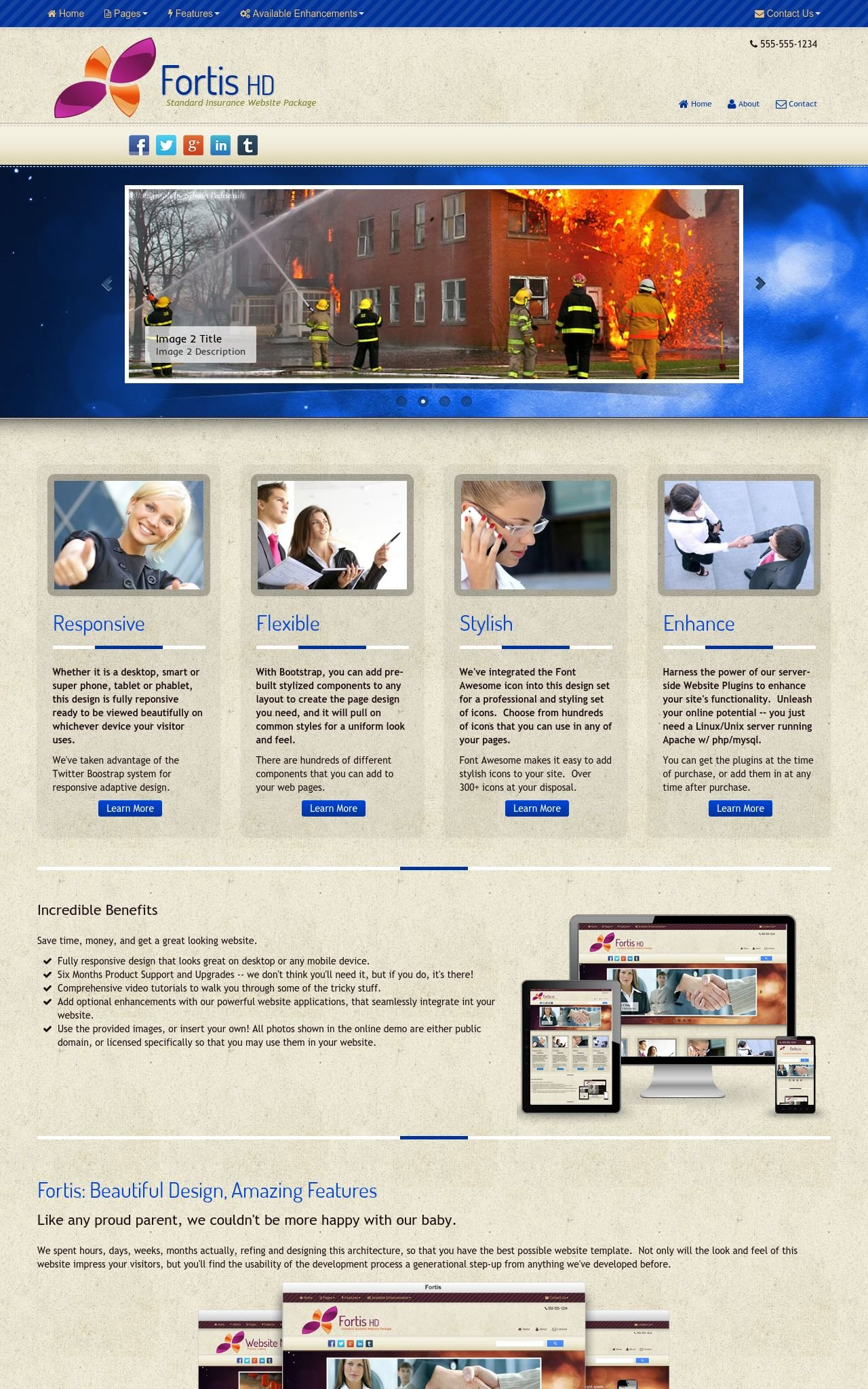 Insurance Dreamweaver Templates