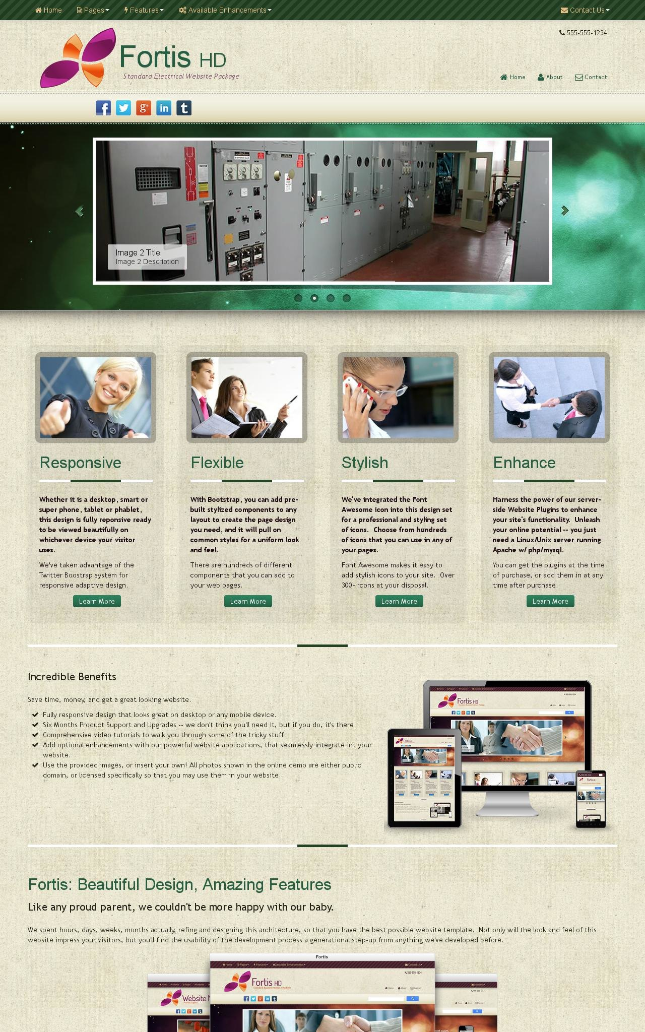 Electrical Wordpress Themes