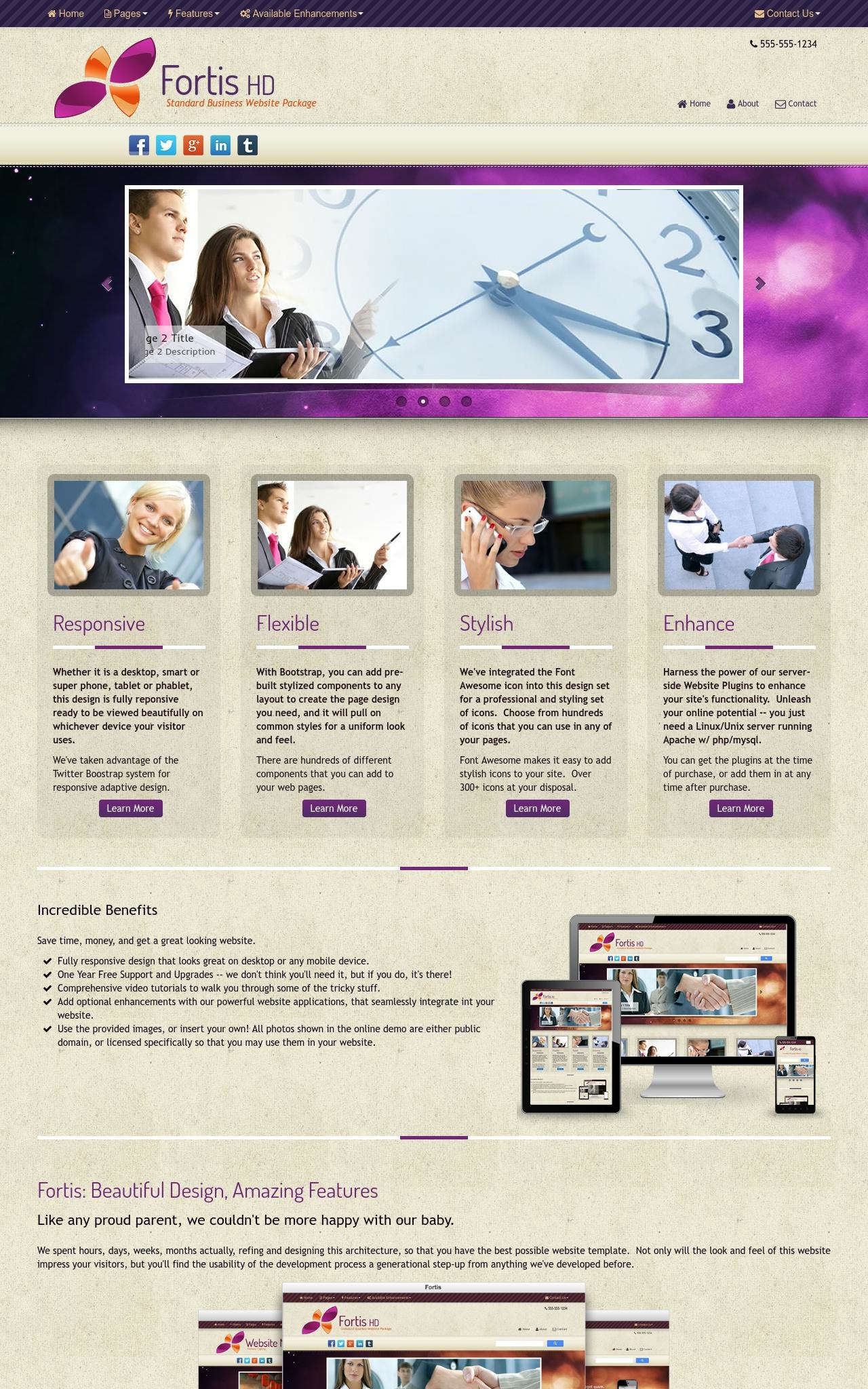 Business Web Templates