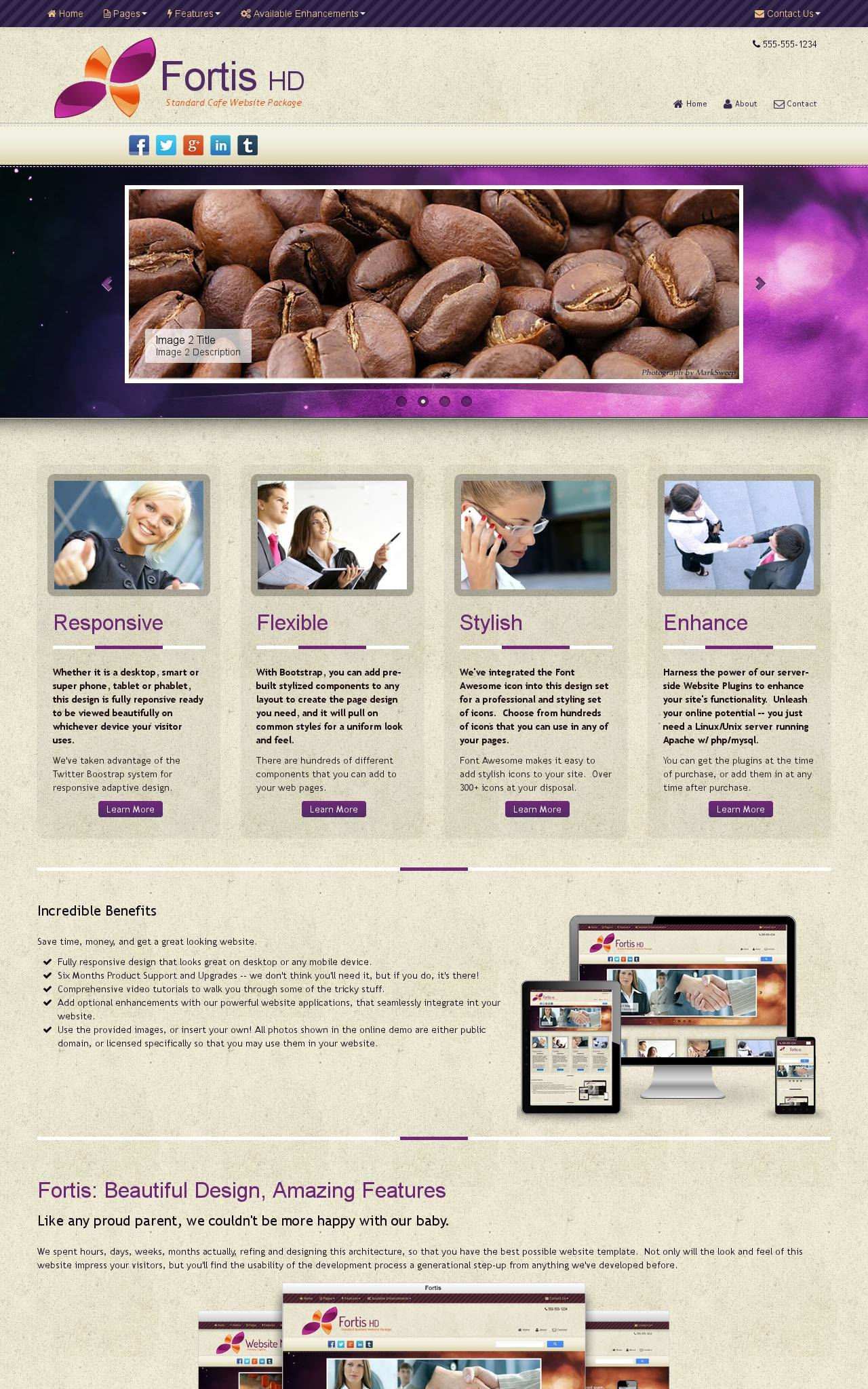 Cafe Dreamweaver Templates
