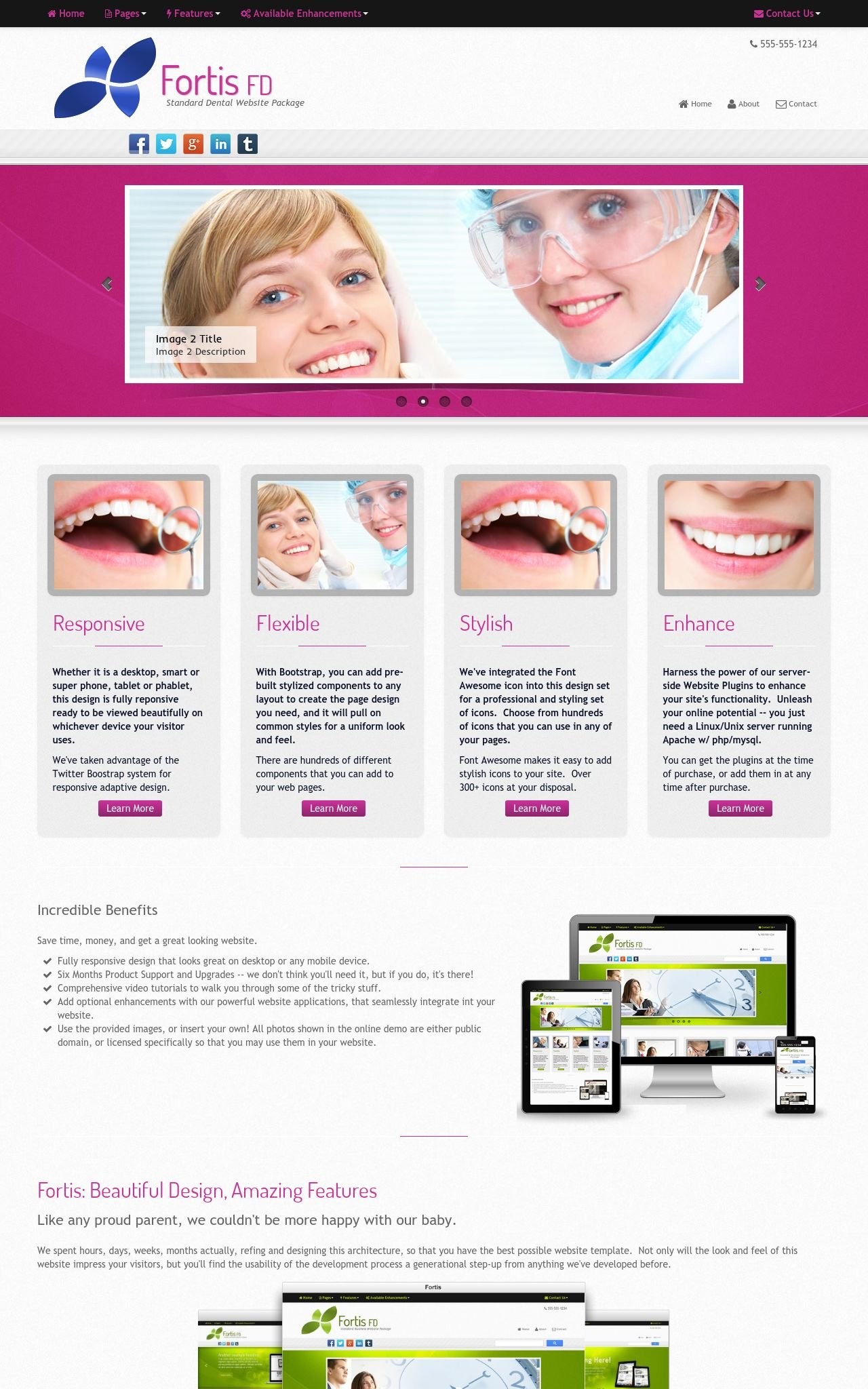Dental Web Templates