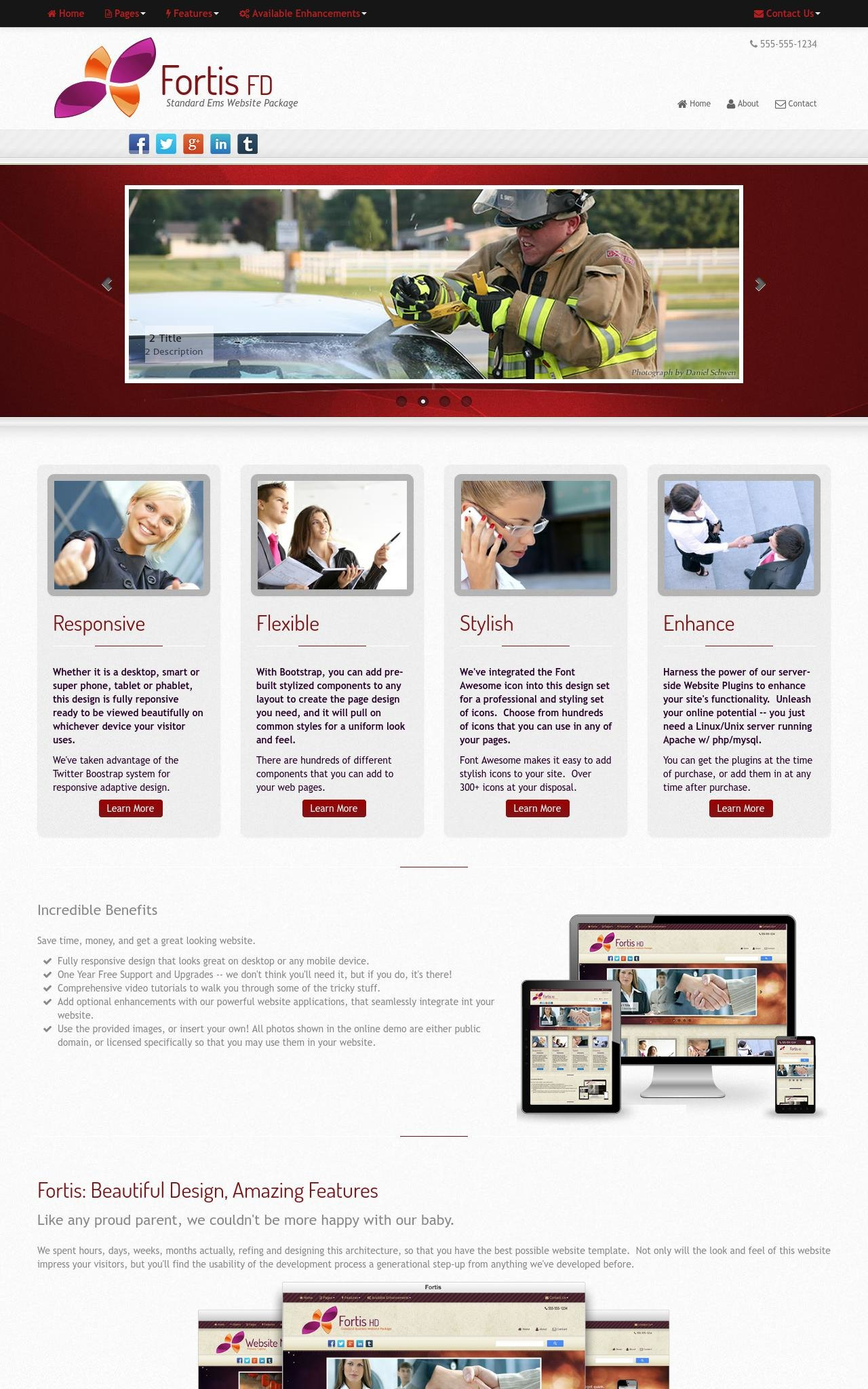 Tablet: Ems Web Template
