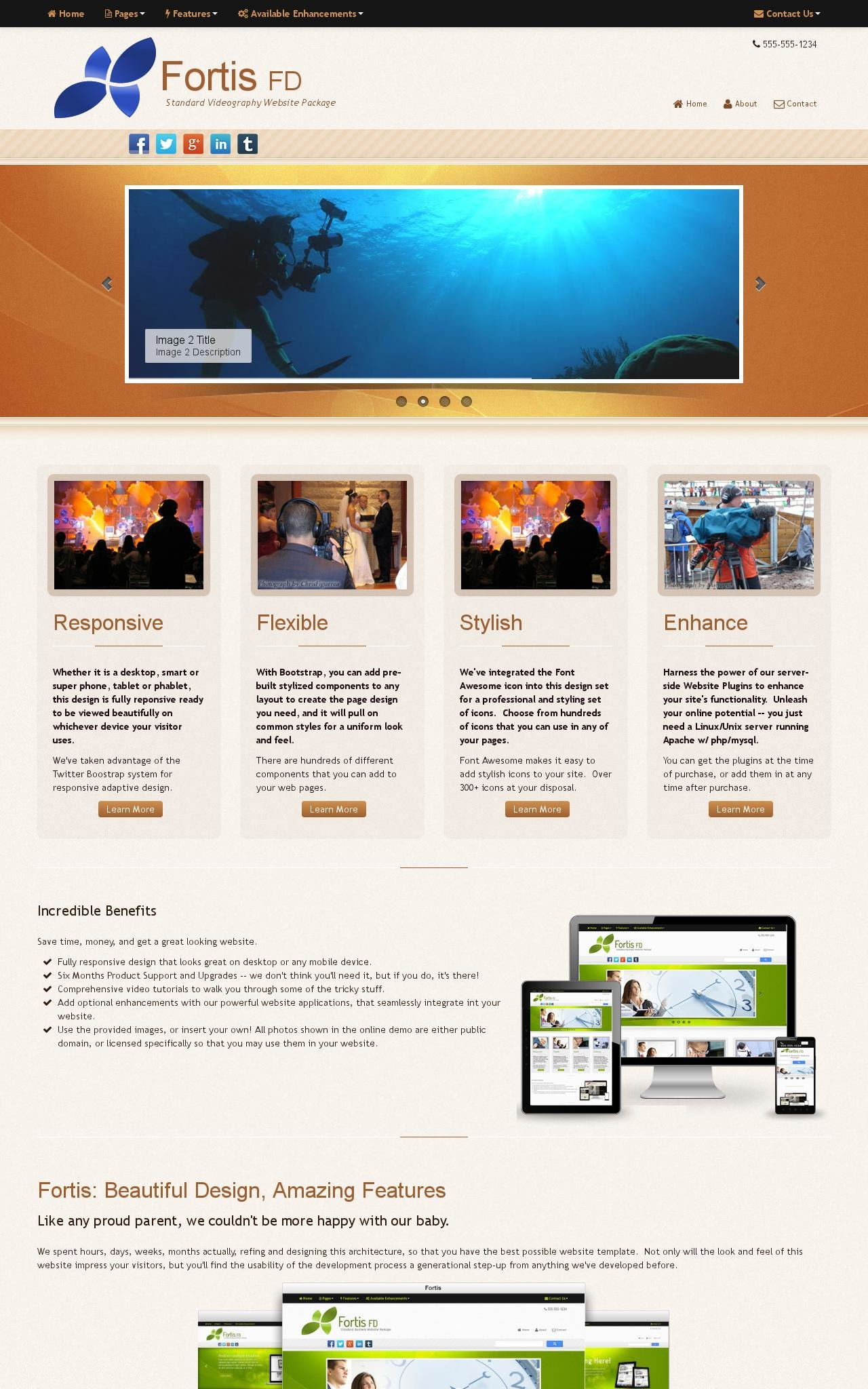 Videography Web Templates
