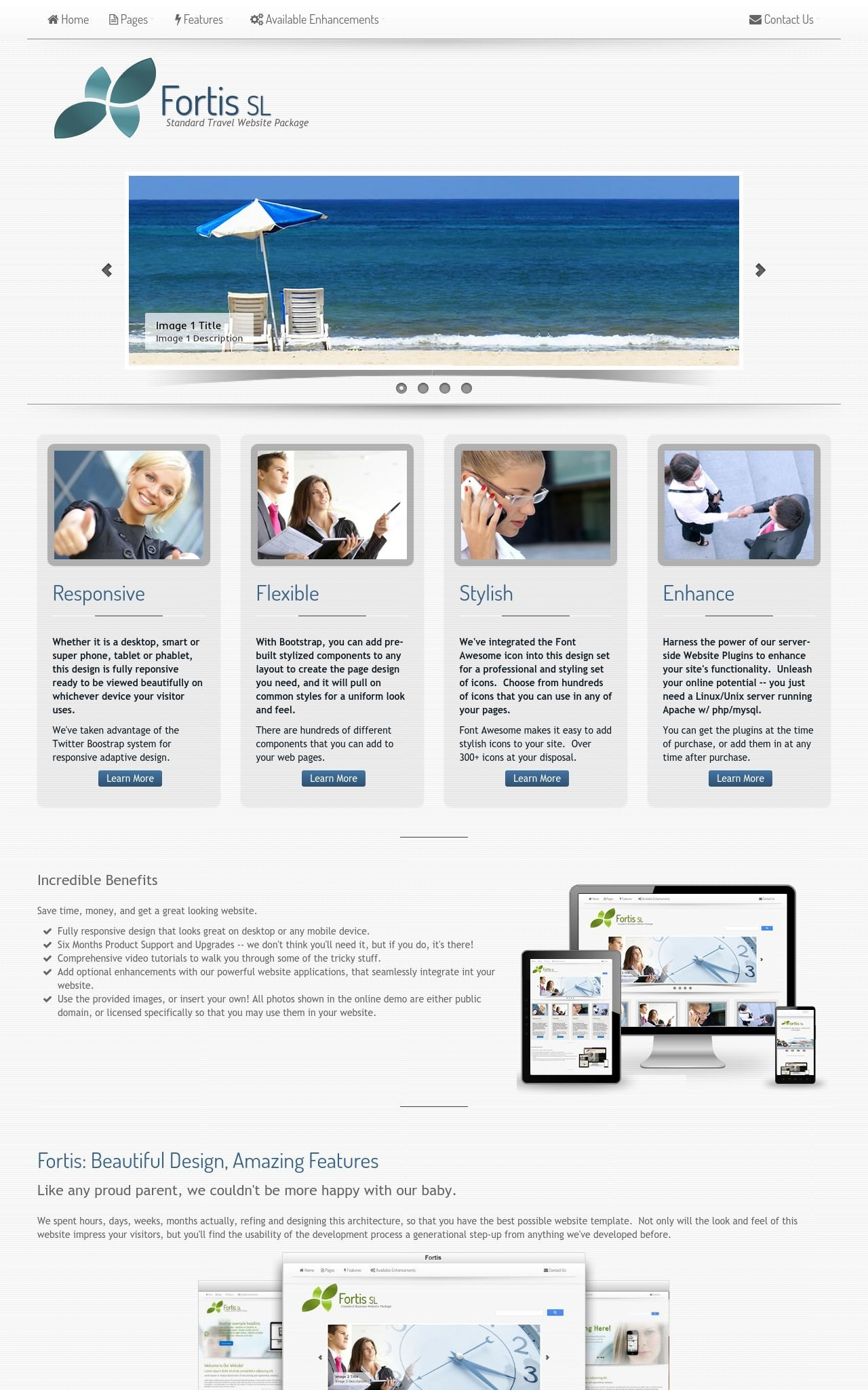 Travel Web Templates