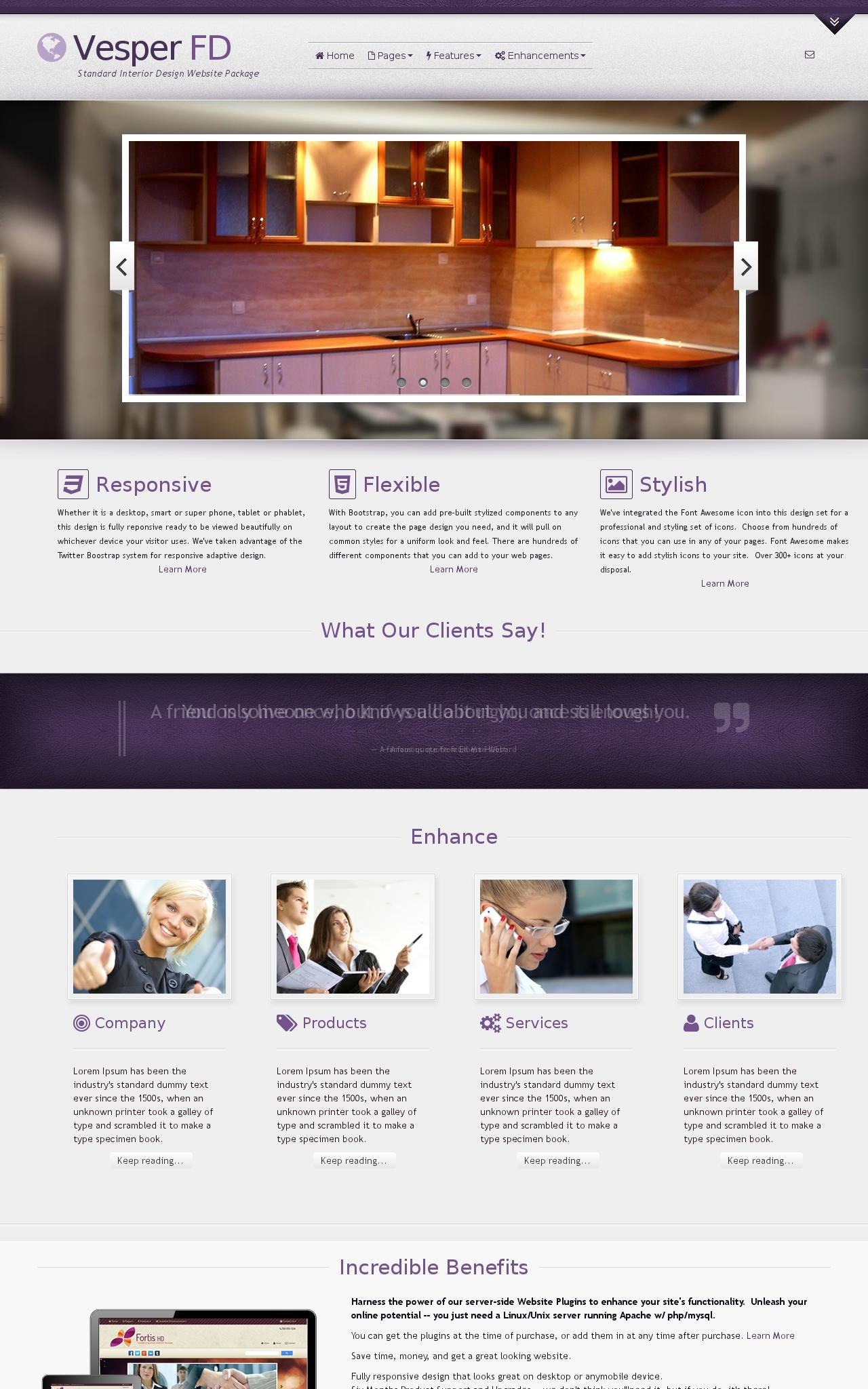 Interior-design Wordpress Themes