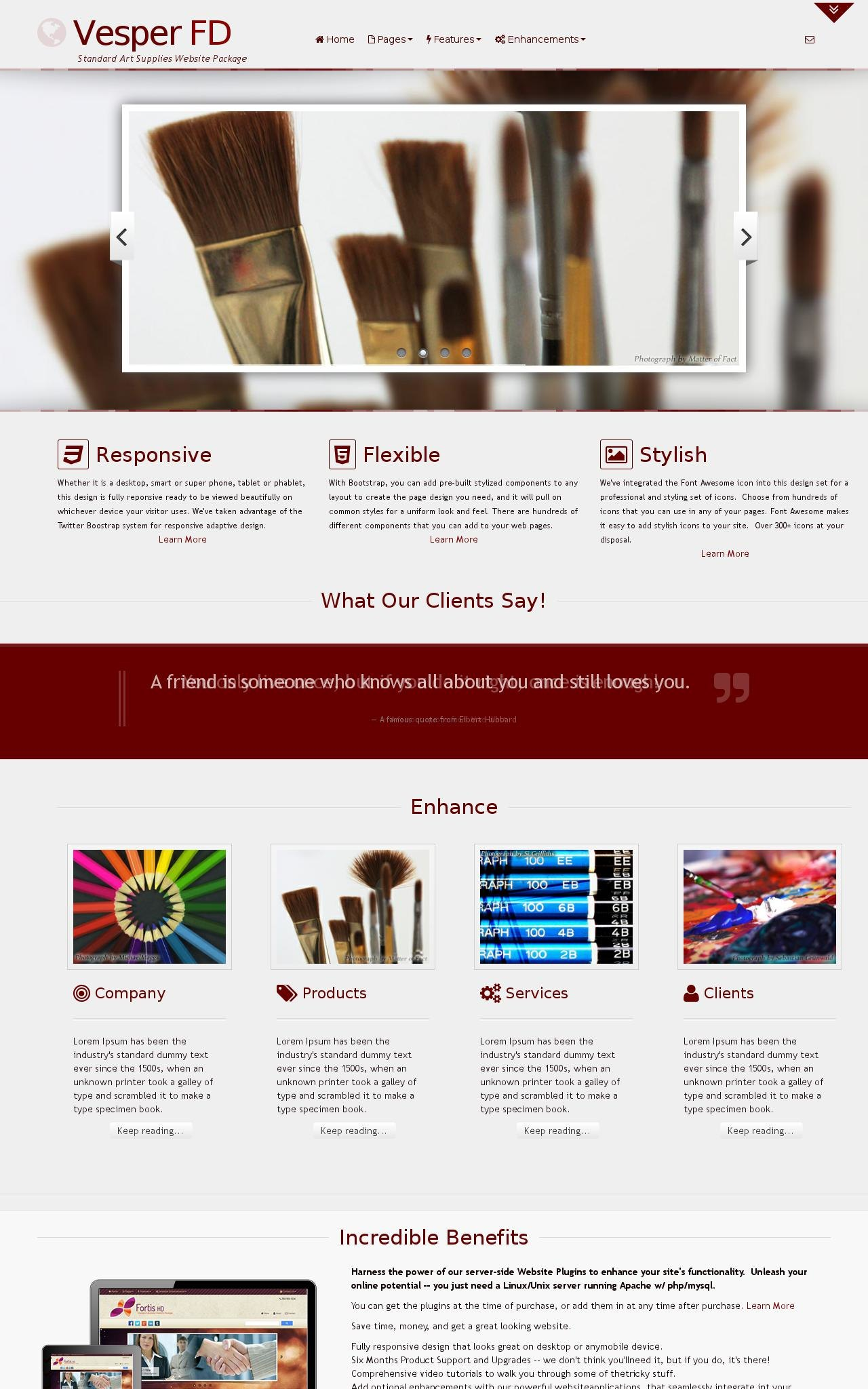 Art-supplies Wordpress Themes