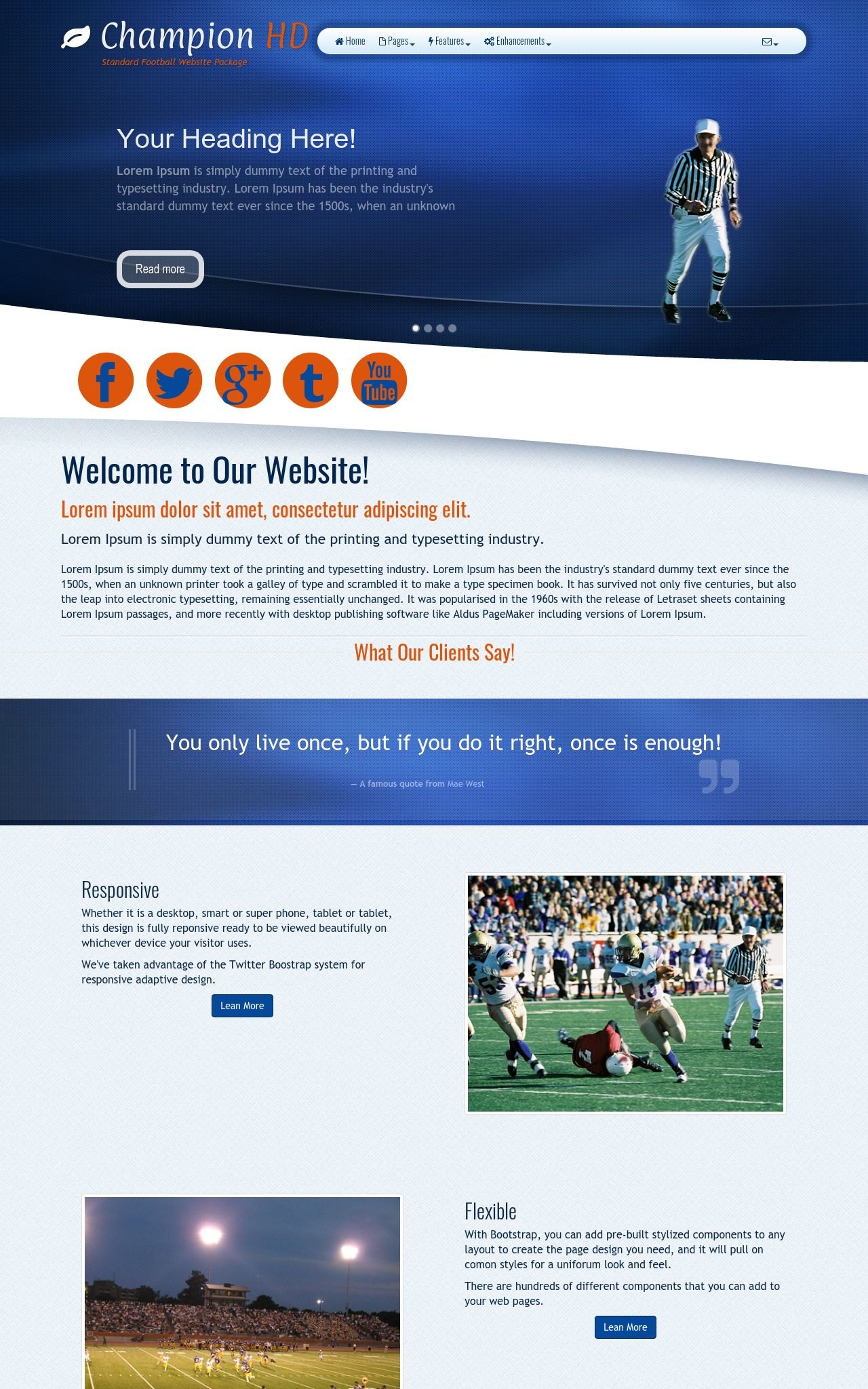 Football Wordpress Themes