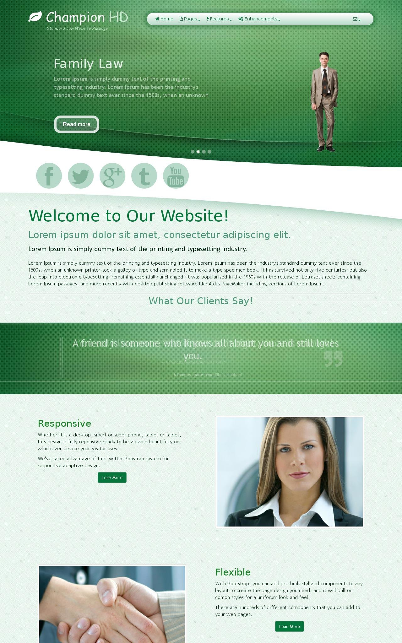 Law Web Templates