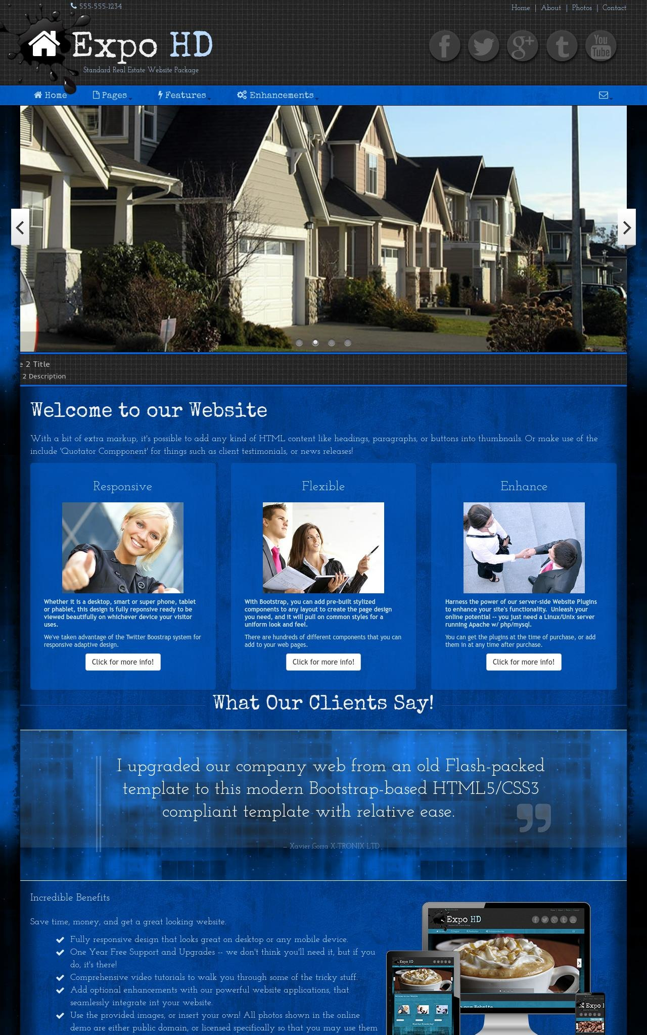Real-estate Wordpress Themes