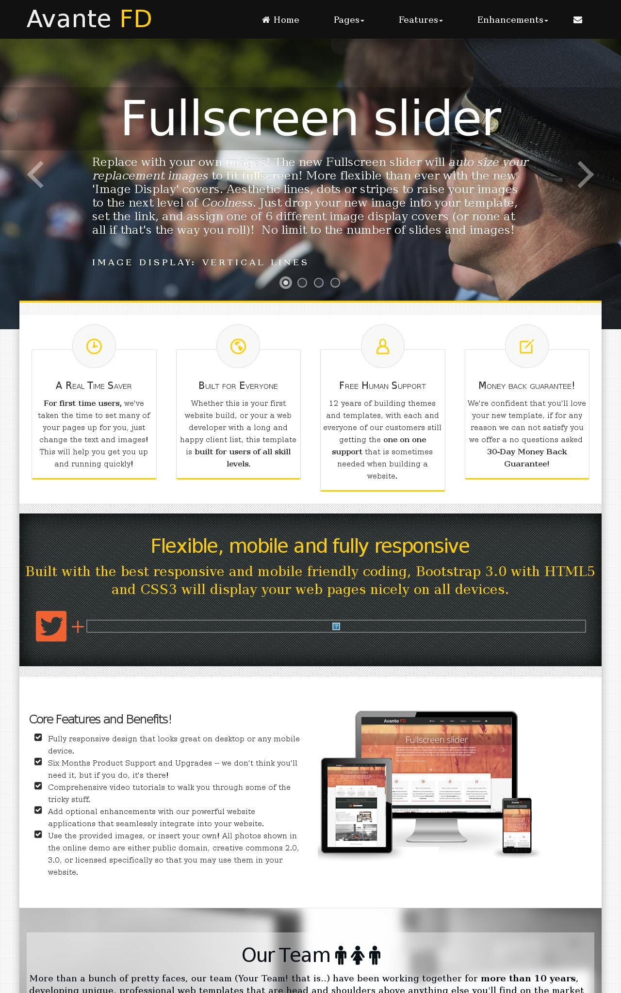Law-enforcement Wordpress Themes