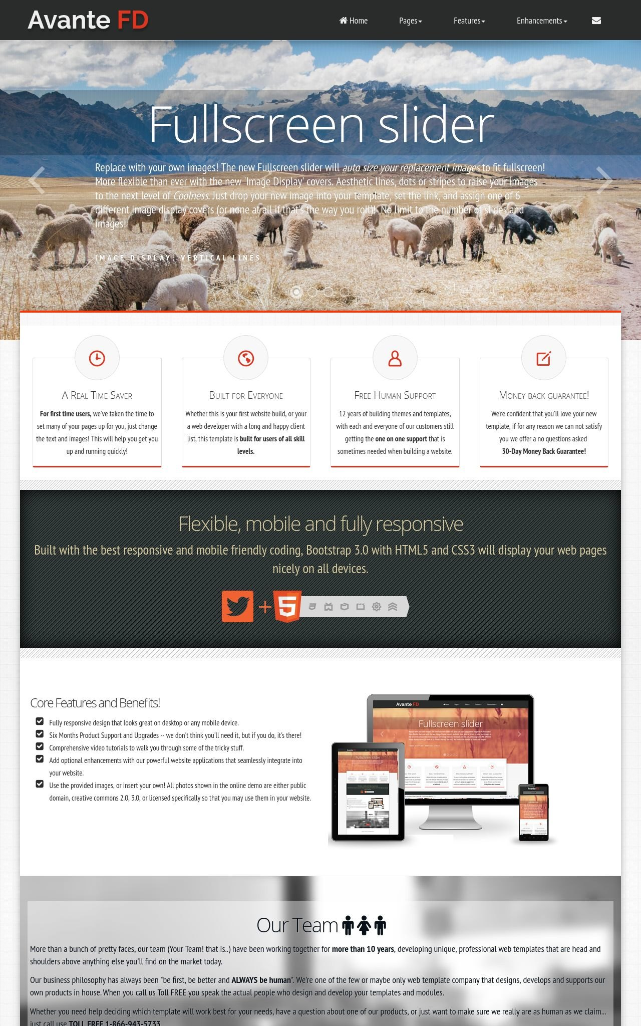 Desktop: Agriculture Wordpress Theme