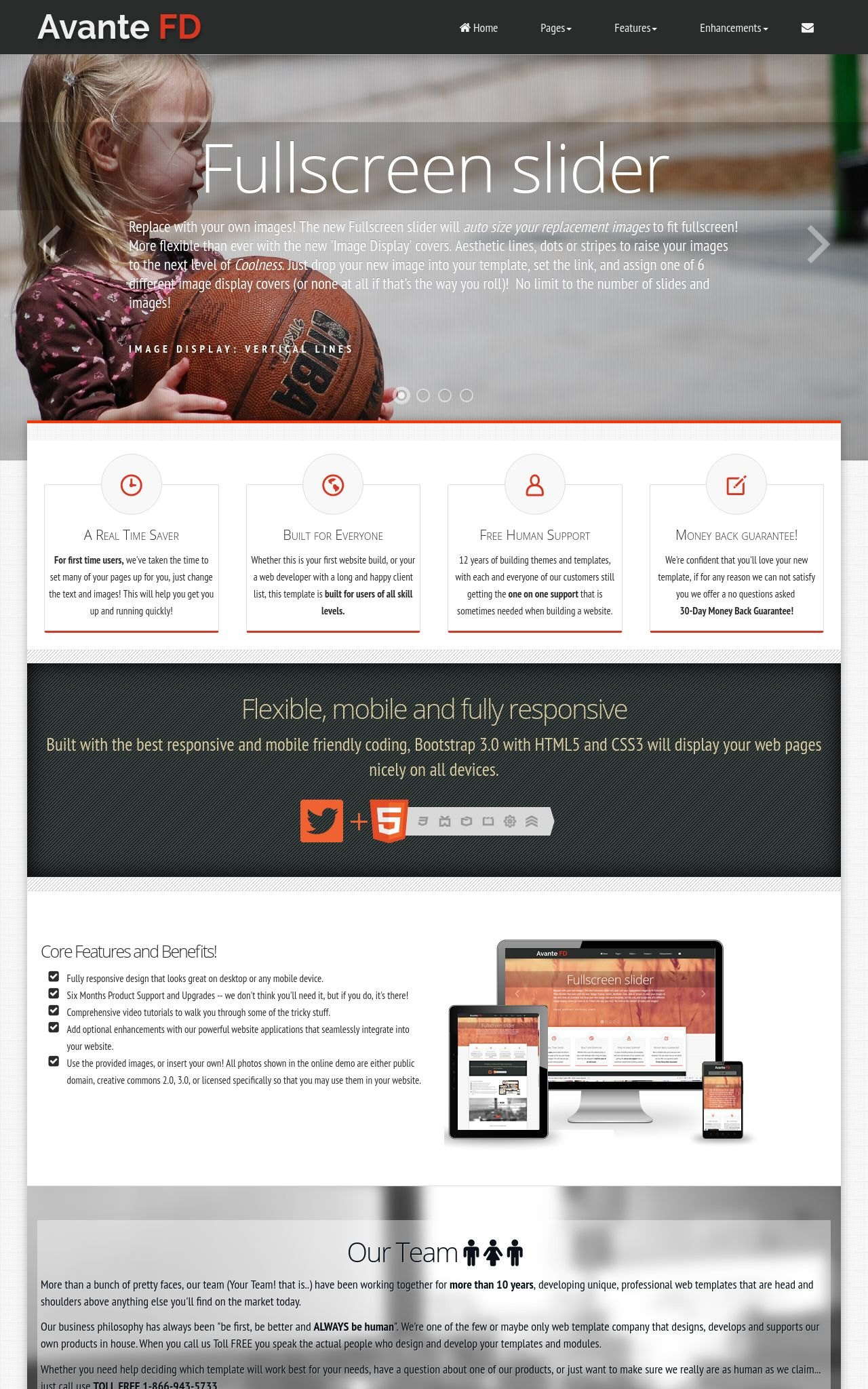 Tablet: Child-care Wordpress Theme
