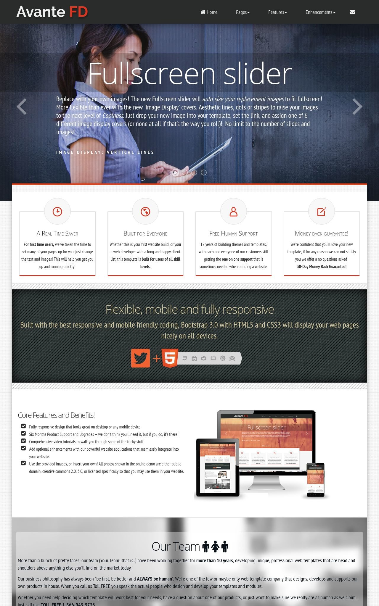 Avante Fd Real Estate Blackred Real Estate Web Template